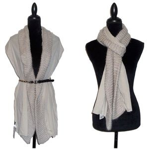 NWT Urban Outfitters Cable Knit Long Scarf